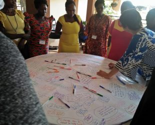 women learn how to do the conversations map a tool for sorting problems and finding solutions that are collective in nature